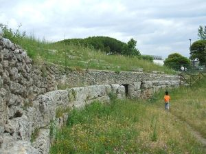 Theatre Ruins, Paestum- wikimedia.org
