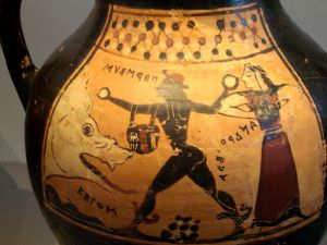 Black-Figure Pottery