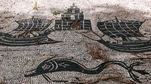Mosaic from an insula (apartment building)