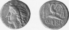 Silver Coin of Olbia in the British Museum