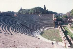 The Theater at Ostia