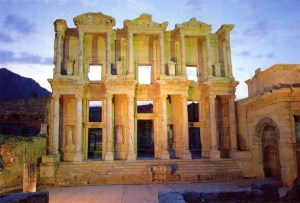The Celsus Library http://vacantaesoterica.blogspot.com/2011/07/biblioteca-lui-celsus-din-efes.html