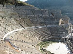 Theater in Ephesus www.wikimedia.org