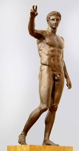 The Ephebe statue. It is believed to be either Paris or Perseus.