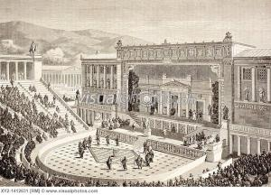 Artist's Impression of Theater of Dionysus