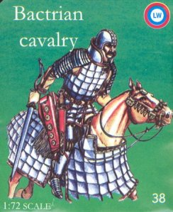 Bactrian cavalry soldier