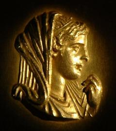 coin of Olympias