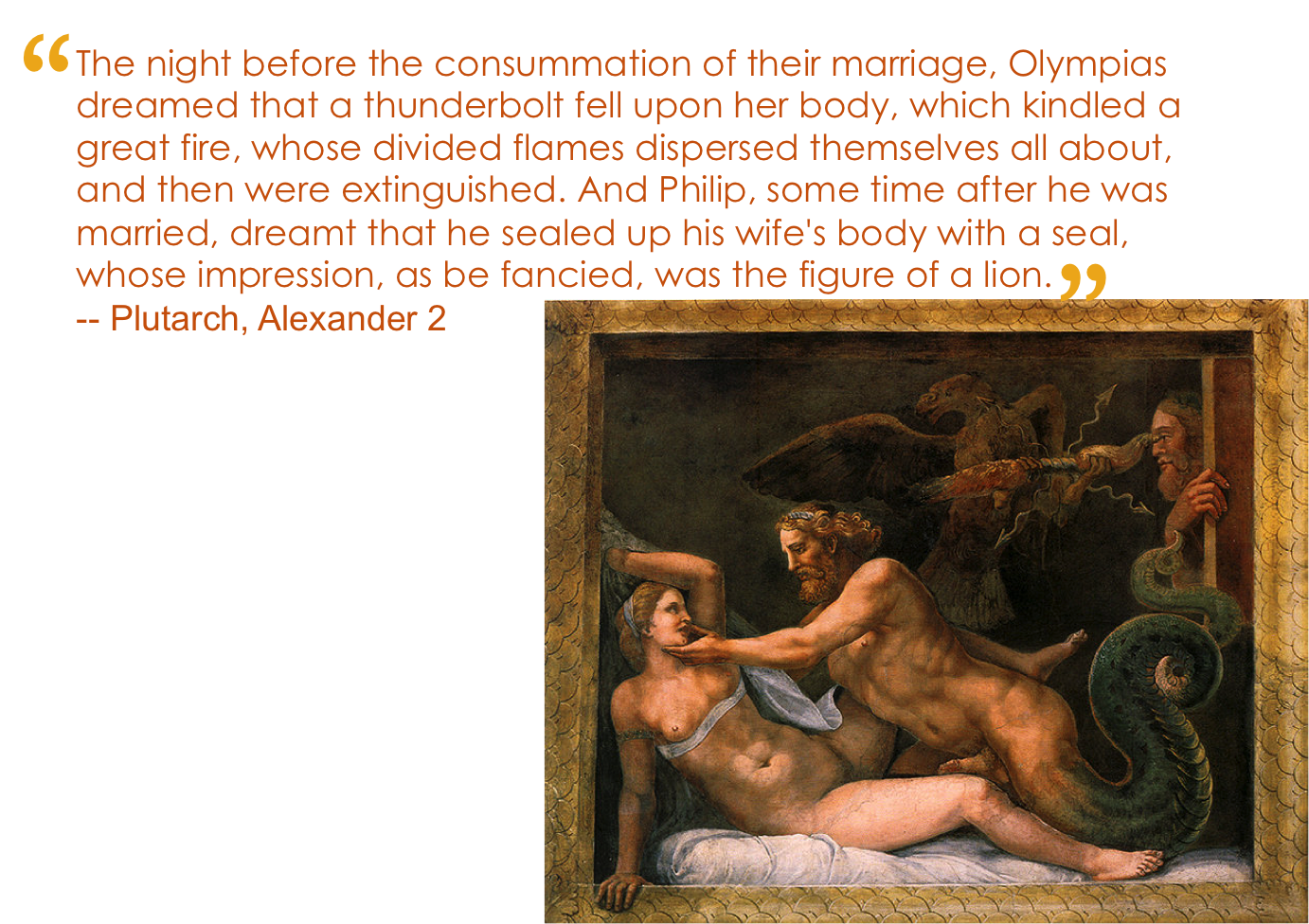 alexander the great and olympias relationship