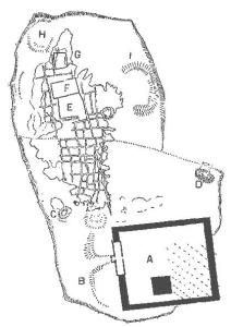 W.M.F Petrie 1890 sketch